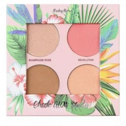 Paleta Cheek Glow Studio Ruby Rose HB - 7506