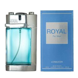 Perfume Royal For Men 100ML Ref: B430 - Tendência Olfativa Polo Blue Ralph Lauren