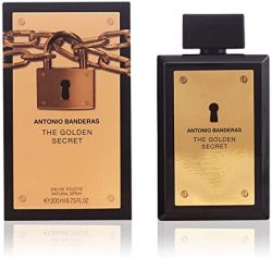 Perfume Antonio Banderas The Golden Secret Masculino Eau de Toilette 200ml