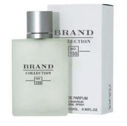 Perfume Masculino Brand Colletion 25ml N° 155 Inspirado Aqua Di Gio