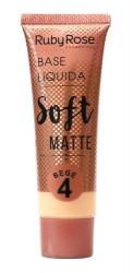 Líquida Soft Matte Ruby Rose Bege  04 HB - 8050