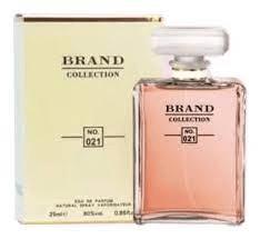 Perfume Feminino Brand Colletion 25ml N° 021 Insirado Coco Chanel